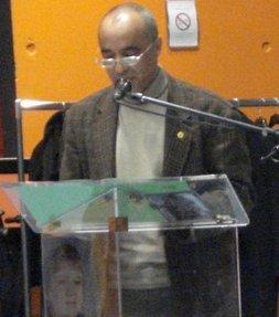 Discours de Jean-Marc Besson, tête de liste des Verts - Municipales 2008